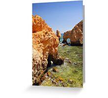 Ponte da Piedade Greeting Card