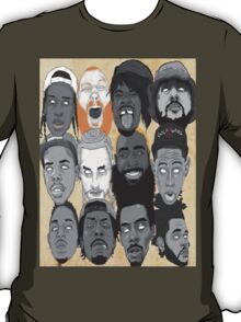 ULTIMATE INDEPENDENT HIP HOP  T-Shirt