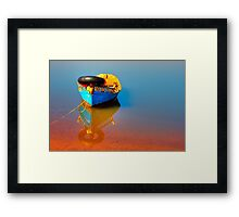 River Poems #4 Framed Print