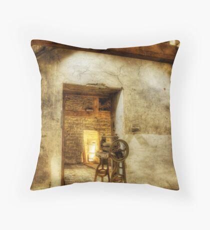 Mangled Barn Throw Pillow