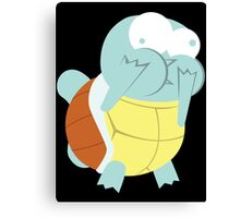 Squirtle About to Barf Canvas Print