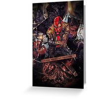 Red Hood - Everyone Has To Start Somewhere Greeting Card