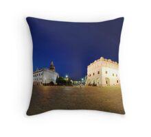 panorama old town Throw Pillow
