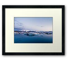 Glacier Lagoon #5 Framed Print