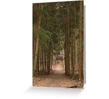 Forest in Alsace Greeting Card