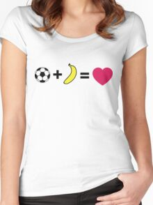 L + H = love Women's Fitted Scoop T-Shirt