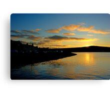 Kirkwall Bay Sunset Canvas Print