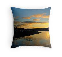 Kirkwall Bay Sunset Throw Pillow