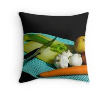 Cajun Basics Throw Pillow