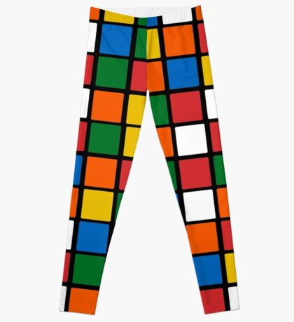 Rubix Cube Leggings