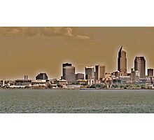 Cleveland Skyline Photographic Print