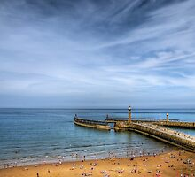 Whitby Beach by Svetlana Sewell