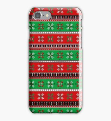 Dotted Christmas iPhone Case/Skin