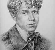 Sergey  Yesenin by Anastasia Zabrodina