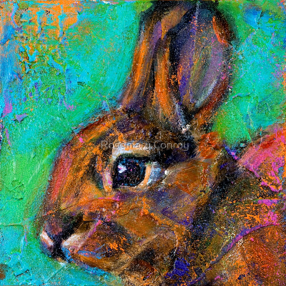 Earth Keeper: Eastern Cottontail by Rosemary Conroy
