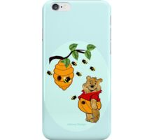 Pooh Bear takes care of his tummy (7185  Views) iPhone Case/Skin