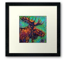 Earth Keeper: Moose Framed Print