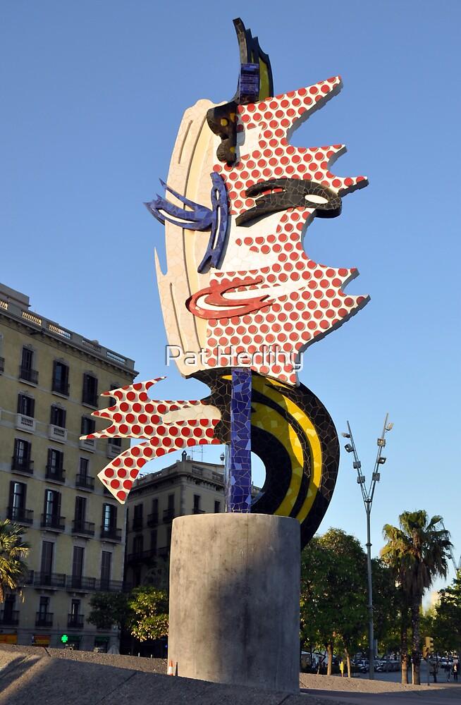 Gaudi, Barcelona by Pat Herlihy