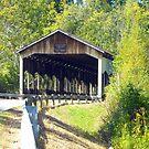 Corwin Nixon Covered Bridge by debbiedoda