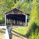 Corwin Nixon Covered Bridge by debbiedoda