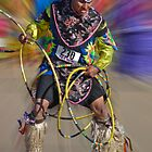 Hoop Dancer by Linda Gregory