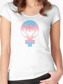 Transgender Feminist Women's Fitted Scoop T-Shirt