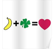 H + N = love Poster