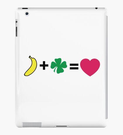 H + N = love iPad Case/Skin