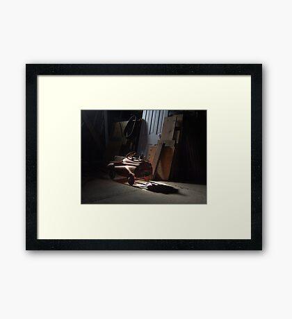 Fire Chief - Maroa, IL Framed Print