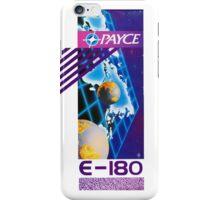 PAYCE E-180 BLANK VIDEO TAPE iPhone Case/Skin