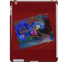 Postcard from Cyberspace iPad Case/Skin