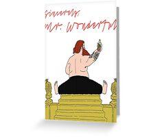 Wonderful Greeting Card