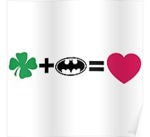 N + Li = love Poster