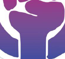 Bisexual Feminist Sticker