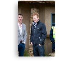 Prince Harry at RHS Chelsea Flower Show Canvas Print