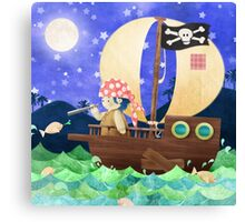 Ship ahoy! Canvas Print