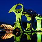 Falkirk Wheel by David Queenan