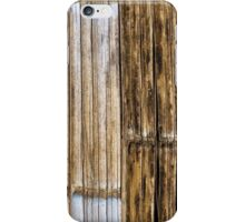 Bamboo Wall iPhone Case/Skin