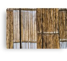 Bamboo Wall Canvas Print