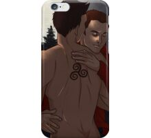 Taming the Wolf iPhone Case/Skin