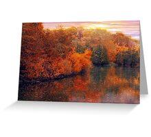 Fall River Greeting Card
