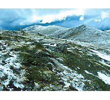 Snowy Ridge Photographic Print