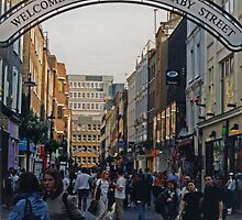 Carnaby Street, Soho by Mike Oxley