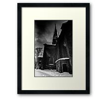 Klara Church Stockholm Framed Print