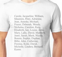All the co-stars Unisex T-Shirt