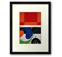 The Bus Framed Print