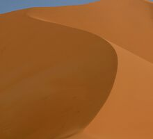 Awesome dune in Ahnet, Southern Algeria by Euphemia