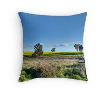 Rural Pano Throw Pillow