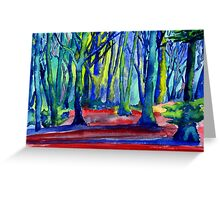 Whitwell Wood, Derbyshire Greeting Card