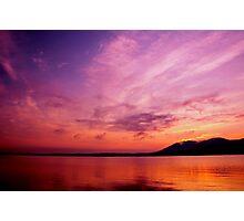 """Hudson River, NY Sunrise"" Photographic Print"